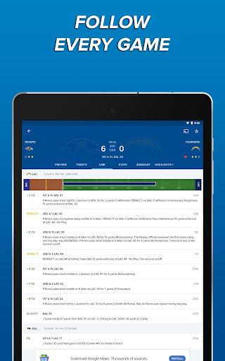 CBS Sports App - Scores, News, Stats & Watch Live 9.9.1 screenshots 10