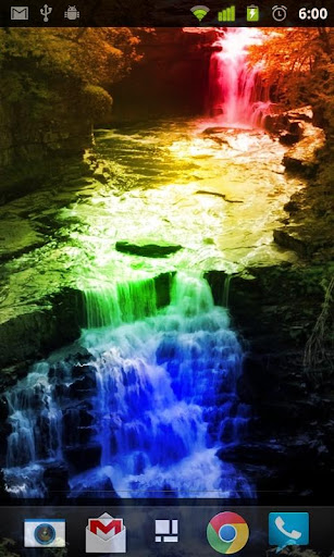 Rainbow Waterfalls 2 LWP