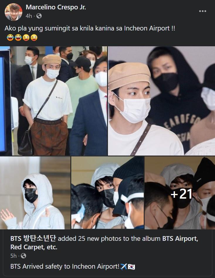 bts incheon airport