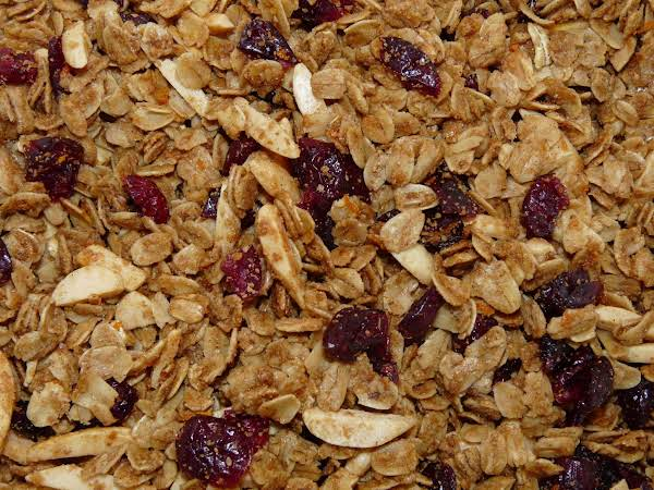 Orange Cranberry Granola