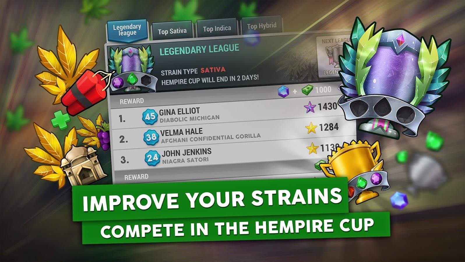 Weed Growing Games Download Windows - Hempire weed growing game screenshot