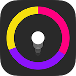 Hop Hop Color Circle Icon