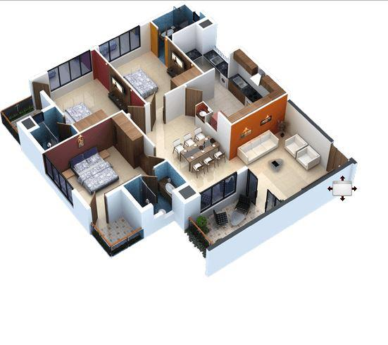 home layout design. 3d home layout design- screenshot design