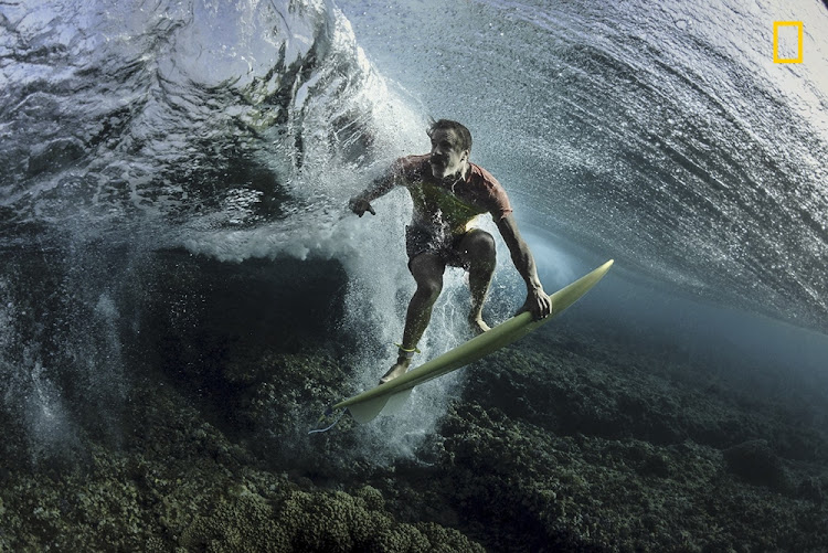 'Under The Wave' took 3rd Place in the People Category.