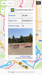Carril Bici Madrid- screenshot thumbnail