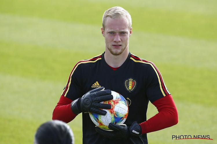 """Bodart titulaire au Standard, mais absent chez les Diablotins : """"Je ne peux qu'accepter"""""""