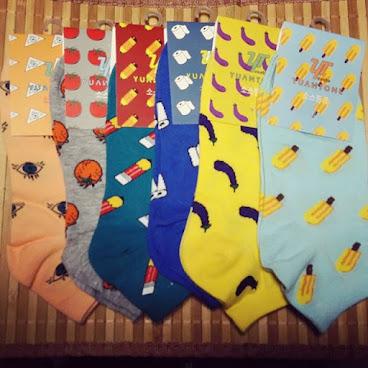 多款特別襪子