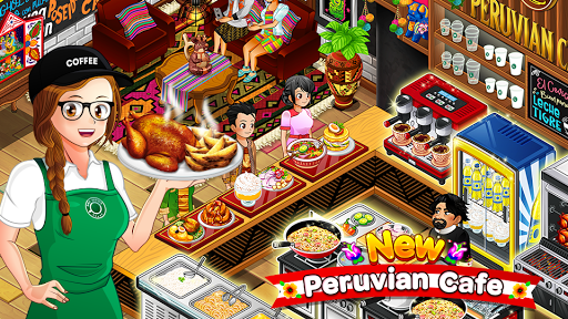 Cafe Panic: Cooking Restaurant apkmr screenshots 1