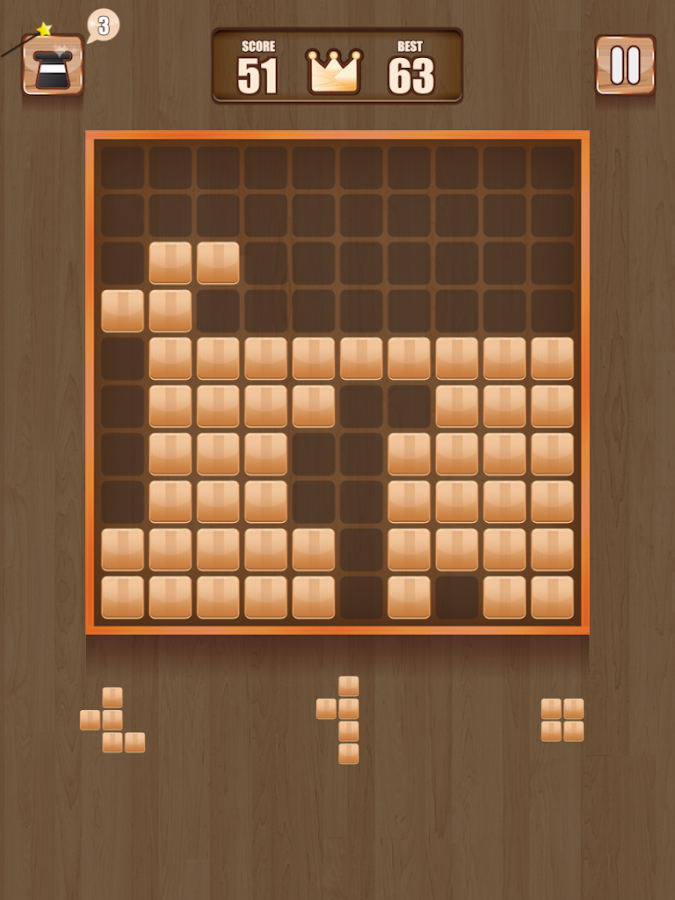 Wood Block Puzzle ~ Wooden block puzzle android apps auf google play