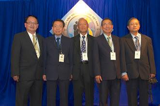 Photo: Từ trái: Nguyễn Vạn Bình – Đoàn Phúc Hữu – Châu Minh Hoàng – Lê Truật – Nguyễn Toàn