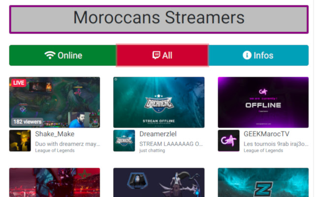 Moroccan Streamers (Beta)