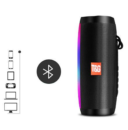 Portabel Trådlös Bluetooth Högtalare (Hu-Tech)