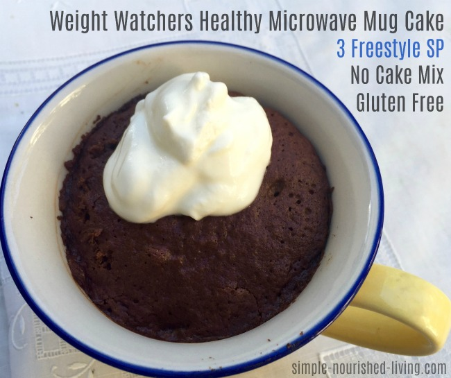 Microwave Mug Cake No Egg
