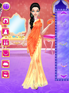 Indian Doll Wedding Fashion Makeup And Dressup Screenshot