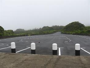 Photo: parkoviště u jeskyní