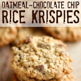 Oatmeal, Chocolate-Chip, Rice Krispy Cookies - AMAZING!