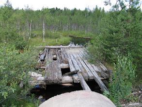 Photo: Старый мостик рядом с дорогой