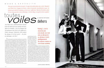 Photo: Vogue, 1992, double page, (photo : Helmut Newton)