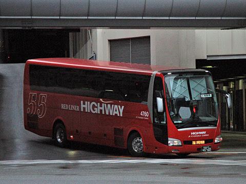 JR九州バス「桜島号」夜行便 4760