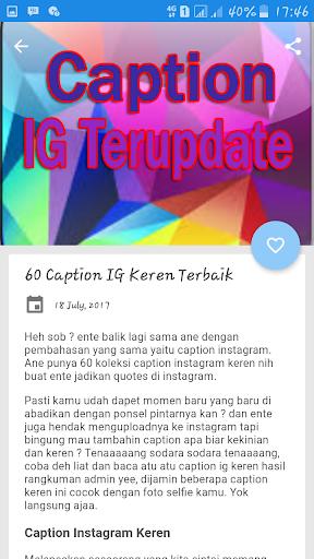 Caption Keren Buat Ig 2