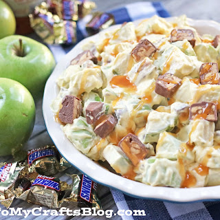 Snickers Caramel Apple Salad –