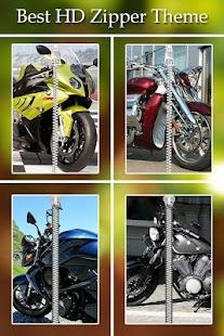 Bike Zipper Lock screenshot
