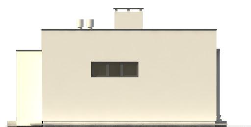 G201 - Budynek rekreacyjny z sauną - Elewacja prawa