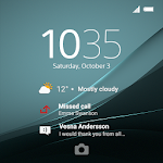 XPERIA™ Theme: Aqua Green
