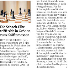 Photo: Artikel Dolomiten 27.05.2016