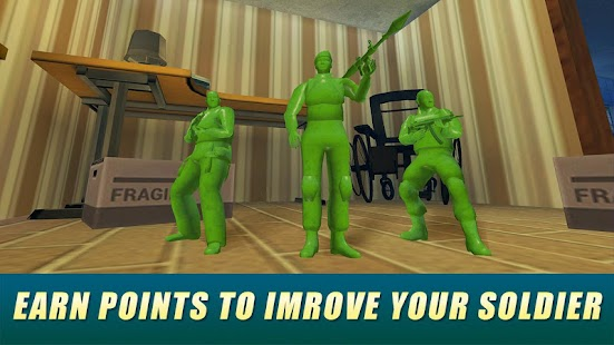 Army Men Toy War Shooter Ekran Görüntüsü