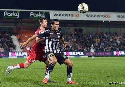 Les joueurs de Charleroi sont tombés sur une solide équipe de Courtrai