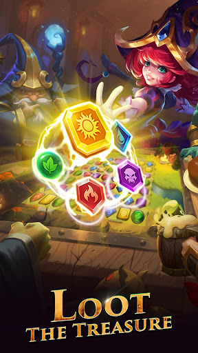 Télécharger Gratuit War and Wit: Heroes Match 3 APK MOD (Astuce) screenshots 3