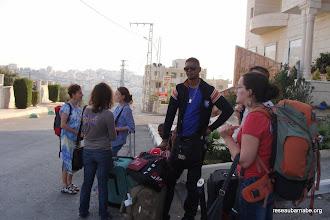 Photo: Notre hôtel à Ramallah