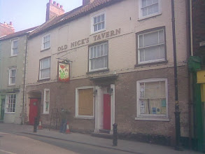 Photo: An epic little hobby continues with the landlord of Old Nick's Tavern renovating sash windows, brick working, sanding, pointing, painting... http://www.oldnickstavern.co.uk/  Regular Live Music nights, which I get for free, living a few doors away..