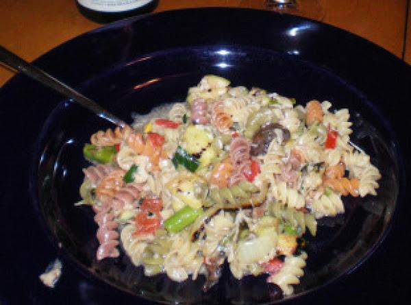 Grilled Vegetable Pasta Recipe