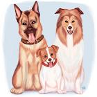FangJump -- милые собаки icon