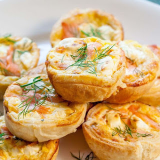 How to Make Mini Salmon Quiches Dinner