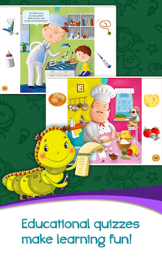 Azbooks - kid's fairy tales, songs, poems & games screenshot 8