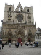 Photo: A Lyon church, don't remember the name.