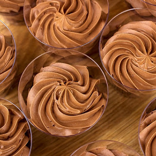Vegan Chocolate Mousse Frosting or Topping.