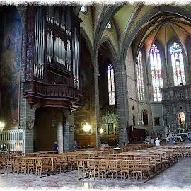 Perpignan - La cathedrale by Gérard CHATENET - Buildings & Architecture Places of Worship
