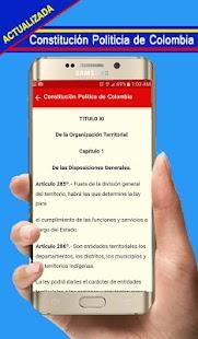 Constitucion Politica de Colombia - náhled