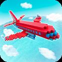Aircraft Survival Block Planes - Flying Simulator icon