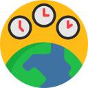 Change Timezone for Google Chrome™ Icon