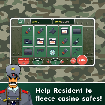 Resident Slot Machine - try to win in our casino! screenshot 2