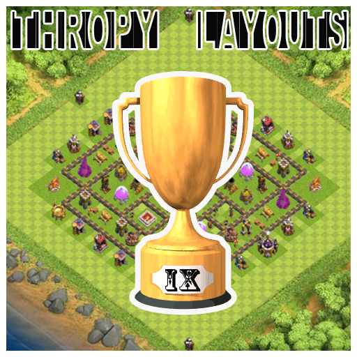 Trophy Base Maps COC Th.9 PRO
