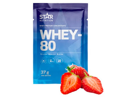 Whey-80 One Serving 37g - Strawberry