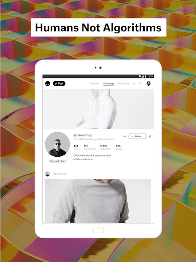 Screenshot 7 for Ello's Android app'
