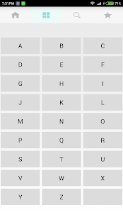 GRE VOCABULARY with test screenshot