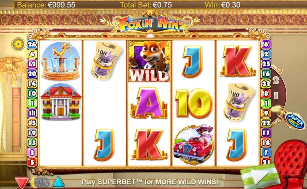 Foxin. Wins by NYX online slot casino game
